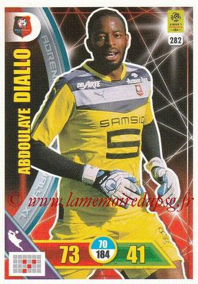 2017-18 - Panini Adrenalyn XL Ligue 1 - N° 282 - Abdoulaye DIALLO (Rennes)