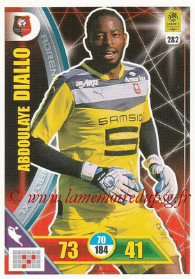 2017-18 - Panini Adrenalyn XL Ligue 1 - N° 282 - Abdoulaye DIALLO (Rennes)