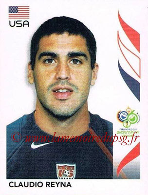 2006 - Panini FIFA World Cup Germany Stickers - N° 354 - Claudio REYNA (États Unis)