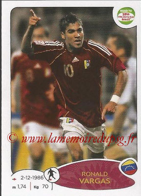 2014 - Panini Road to FIFA World Cup Brazil Stickers - N° 235 - Ronald VARGAS (Vénézuela)