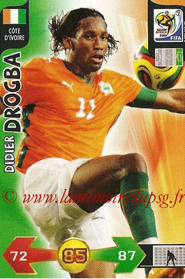 2010 - Panini FIFA World Cup South Africa Adrenalyn XL - N° 069 - Didier DROGBA (Côte d'Ivoire)