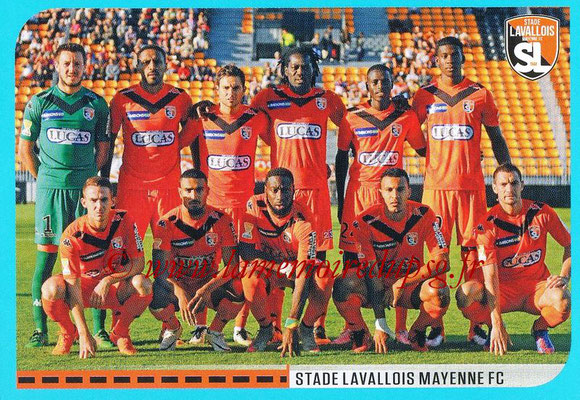 2016-17 - Panini Ligue 1 Stickers - N° 872 - Equipe Laval