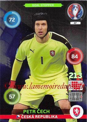 Panini Euro 2016 Cards - N° 047 - Petr CECH (République Tchèque) (Goal Stopper)