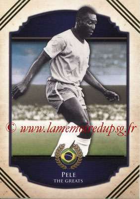 2014 - Futera World Football Unique - N° 112 - PELE (The Greats)
