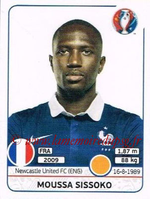 Panini Euro 2016 Stickers - N° 031 - Moussa SISSOKO (France)
