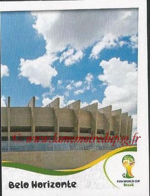 2014 - Panini FIFA World Cup Brazil Stickers - N° 009 - Estadio Mineirao - Belo Horizonte (2)