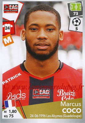 2017-18 - Panini Ligue 1 Stickers - N° 141 - Marcus COCO (Guingamp)