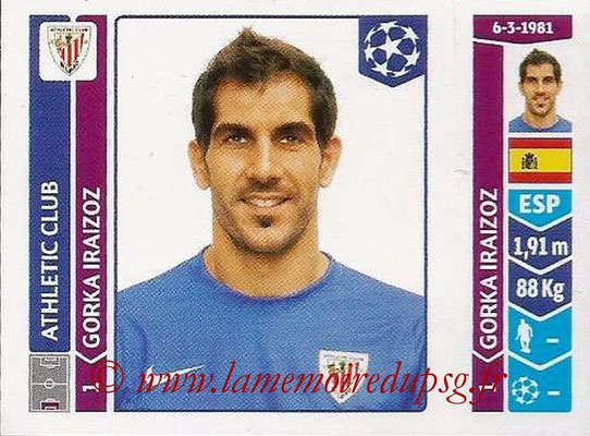 2014-15 - Panini Champions League N° 597 - Gorka IRAIZOZ (Athletic Club Bilbao)