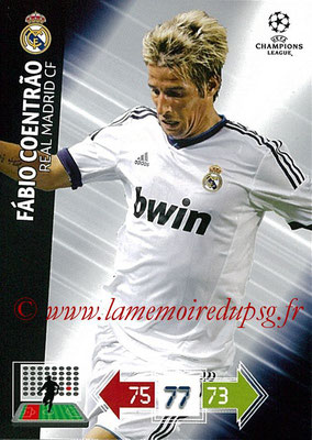 2012-13 - Adrenalyn XL champions League N° 221 - Fabio COENTRAO (Real Madrid CF)