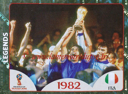 2018 - Panini FIFA World Cup Russia Stickers - N° 674 - Italie 1982 (FIFA World Cup Legends)