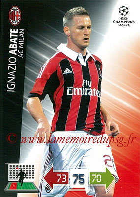 2012-13 - Adrenalyn XL champions League N° 152 - Ignazio ABBATE (Milan AC)