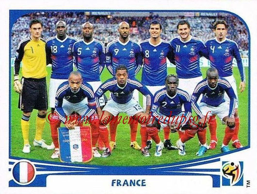 2010 - Panini FIFA World Cup South Africa Stickers - N° 087 - Équipe France