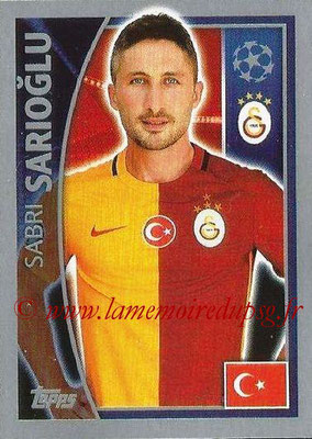 2015-16 - Topps UEFA Champions League Stickers - N° 196 - Sabri SARIOGLU (Galatasaray AS)