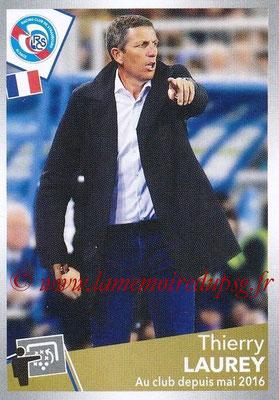 2017-18 - Panini Ligue 1 Stickers - N° 464 - Thierry LAUREY (Entraîneur Strasbourg)