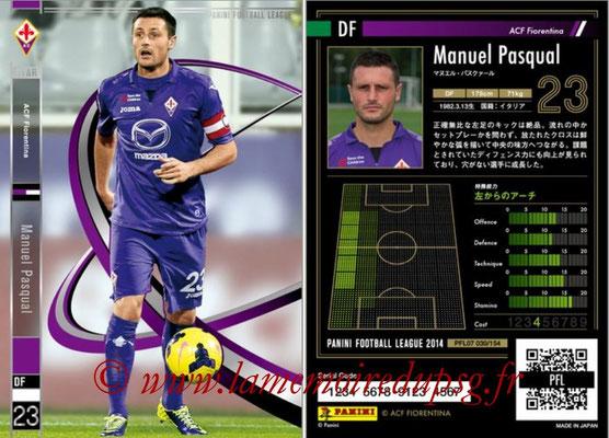 Panini Football League 2014 - PFL07 - N° 030 - Manuel PASQUAL (ACF Fiorentina) (Star)