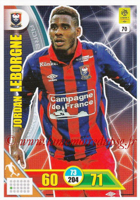 2017-18 - Panini Adrenalyn XL Ligue 1 - N° 070 - Jordan LEBORGNE (Caen)