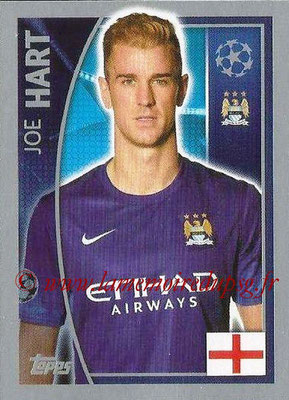 2015-16 - Topps UEFA Champions League Stickers - N° 249 - Joe HART (Manchester City FC)