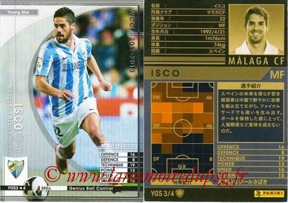 2012-13 - WCCF - N° YGS3 - ISCO (Malaga CF) (Young Star)