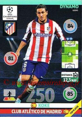 2014-15 - Adrenalyn XL champions League Update edition N° UE093 - KOKE (Atletico Madrid) (Dynamo)
