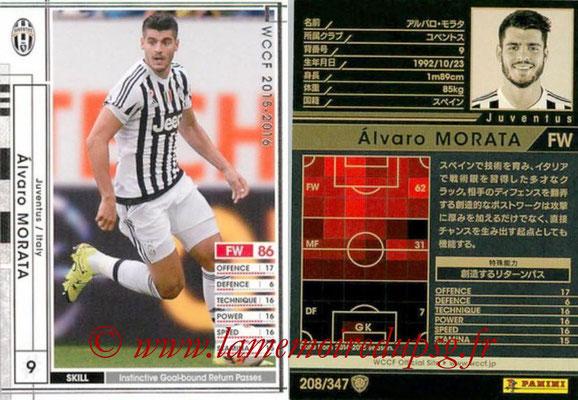 2015-16 - Panini WCCF - N° 208 - Alvaro MORATA (Juventus FC)