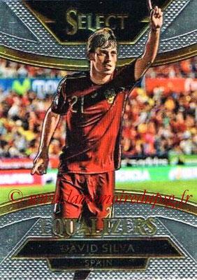 2015 - Panini Select Soccer - N° E17 - David SILVA (Espagne) (Equalizers)