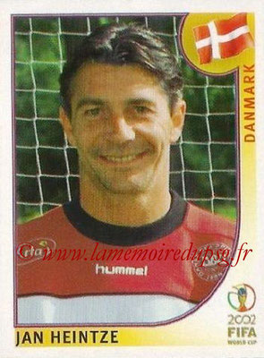 2002 - Panini FIFA World Cup Stickers - N° 085 - Jan HEINTZE (Danemark)