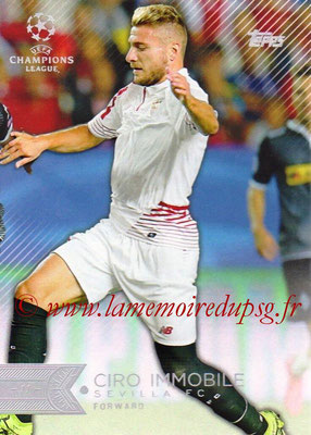 2015-16 - Topps UEFA Champions League Showcase Soccer - N° 099 - Ciro IMMOBILE (FC Valence)