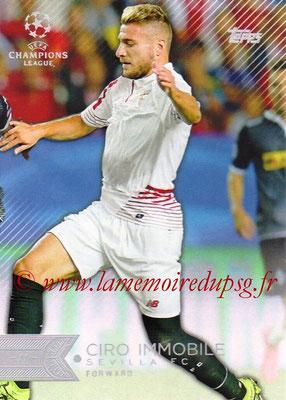 2015-16 - Topps UEFA Champions League Showcase Soccer - N° 099 - Ciro IMMOBILE (FC Valence)