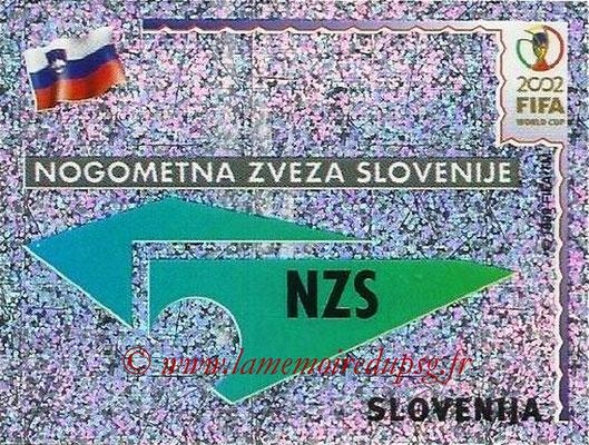 2002 - Panini FIFA World Cup Stickers - N° 116 - Logo Slovénie