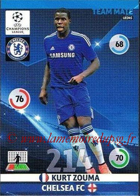 2014-15 - Adrenalyn XL champions League Update edition N° UE045 - Kurt ZOUMA (Chelsea FC)