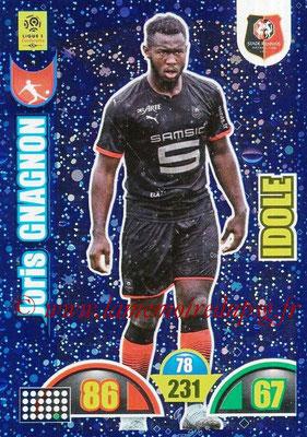 2018-19 - Panini Adrenalyn XL Ligue 1 - N° 389 - Joris GNAGNON (Rennes) (Idole)
