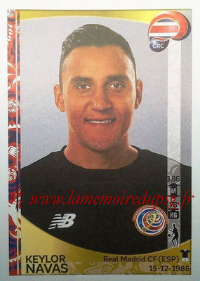 Panini Copa America Centenario USA 2016 Stickers - N° 065 - Keylor NAVAS (Costa Rica)