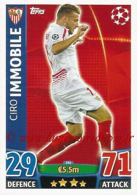 2015-16 - Topps UEFA Champions League Match Attax - N° 286 - Ciro IMMOBILE (FC Seville)