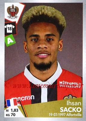 2017-18 - Panini Ligue 1 Stickers - N° T25 - Ihsan SACKO (Nice) (Transfert)
