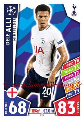 2017-18 - Topps UEFA Champions League Match Attax - N° 135 - Dele ALLI (Tottenham Hotspur)