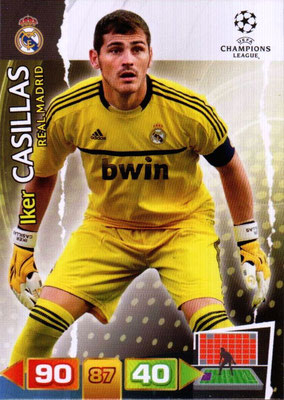 2011-12 - Panini Champions League Cards - N° 223 - Iker CASILLAS (Real Madrid CF)