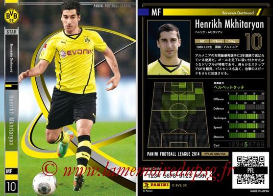 Panini Football League 2014 - PFL07 - N° 090 - Henrikh MKHITARYAN (Borussia Dortmund) (Star)
