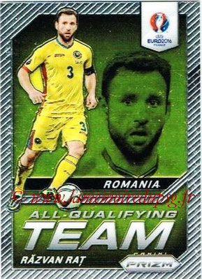 Euro 2016 Panini Prizm - N° AQ-02 - Razcan RATS (Roumanie) (All-Qualifying Team)