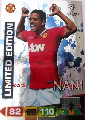 2011-12 - Panini Champions League Cards - N° LE28 - NANI (Manchester United FC) (Limited Edition)