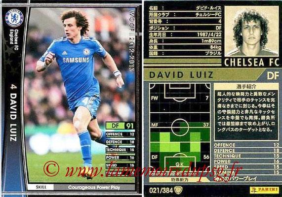 2012-13 - WCCF - N° 021 - David LUIZ (Chelsea FC)