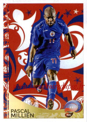 Panini Copa America Centenario USA 2016 Stickers - N° 416 - Pascal MILLIEN (Haïti) (En action)
