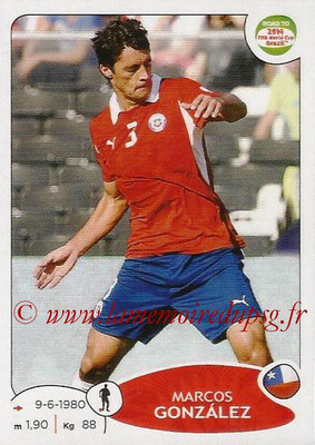 2014 - Panini Road to FIFA World Cup Brazil Stickers - N° 161 - Marcos GONZALEZ (Chili)