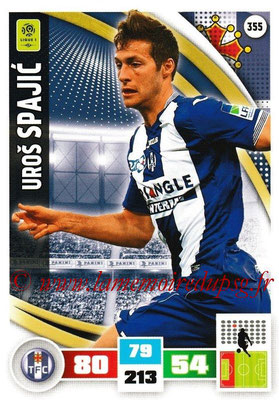 2016-17 - Panini Adrenalyn XL Ligue 1 - N° 355 - Uros SPAJIC (Toulouse)