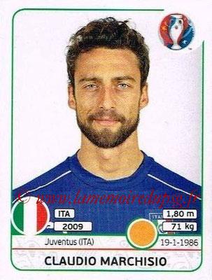 Panini Euro 2016 Stickers - N° 506 - Claudio MARCHISIO (Italie)
