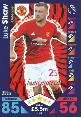 2016-17 - Topps Match Attax Premier League - N° 183