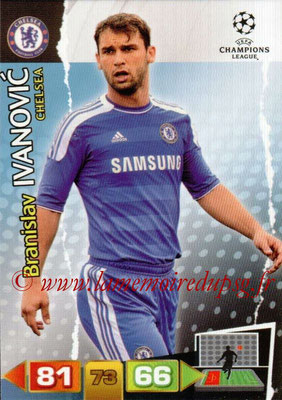 2011-12 - Panini Champions League Cards - N° 082 - Bratislav IVANOVIC (Chelsea FC)