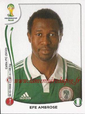 2014 - Panini FIFA World Cup Brazil Stickers - N° 473 - Epe AMBROSE (Nigéria)