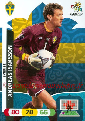 Panini Euro 2012 Cards Adrenalyn XL - N° 202 - Andreas ISAKSSON (Suède)
