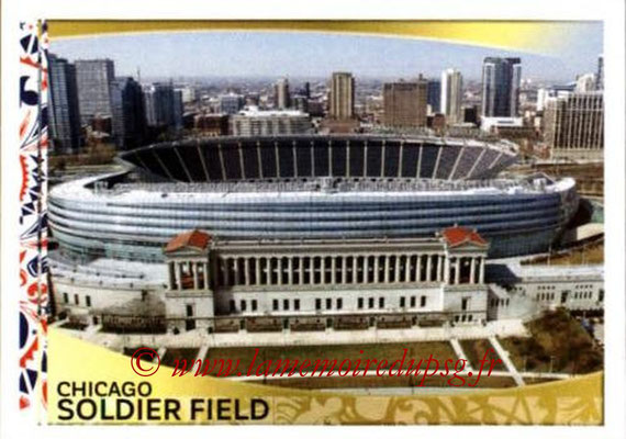 Panini Copa America Centenario USA 2016 Stickers - N° 013 - Soldier Field Chicago