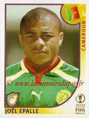 2002 - Panini FIFA World Cup Stickers - N° 380 - Joël EPALLE (Cameroun)